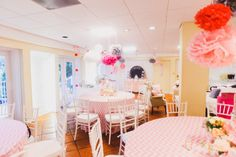 Vintage Elephants and Pink Chevron Baby Shower | Event Planner: michelebutlerevents.com | Photography | Decor: leeforrestdesign.com | Rentals: orlandoweddingandpartyrentals.com | Vintage Furniture Rentals: rwevents.com/style-orlando-vintage-rentals | Linens: overthetopinc.com | Show Cake: orlandocustomcakes.com | Cupcakes: serendipitysweetsorlando.com | Caterer: cuisinierscater.com | Photo Booth: click-fl.com