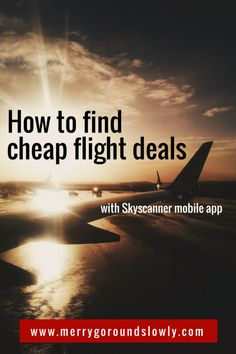 Want to travel smarter, find cheap travel tickets and deals? Try this guide for the Skyscanner mobile app to access the cheapest flight tickets.  Budget Travel | Travel Tips | Travel apps | Mobile apps | Travel Cheap | Smartphone |  #skyscanner #cheapflights #cheaptravel #budgettravel #europe #travel #mobileapps #apps  Open the article to learn the tips!
