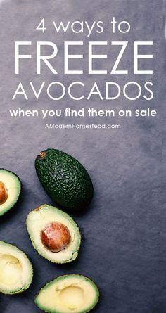 """We've all been there, you see avocados on sale and you want to buy 50 of them! But then you ask yourself the questions, """"How do I store avocados?"""" and """"Can I freeze avocados?"""". Get the answer here!"""
