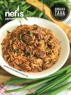 Ankara Tava - Köstliche Rezepte - # You are in the right place about World Cuisine poster Here we offer you the most beautiful pictures about the World Cuisi Ankara, Rice Dishes, Tasty Dishes, Veg Pulao, Turkish Recipes, Ethnic Recipes, Spicy Sauce, Iftar, Challah