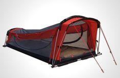ハンモックとしてもテントとしても使える快適シェルター Crua Hybrid