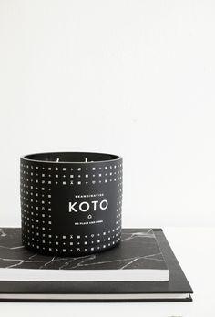 KOTO scented candle by Skandinavisk and Design Bloggers United - emmas designblogg