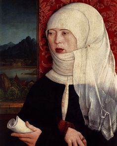 Portrait of Martha Thannstetter (née Werusin), Bernhardt Strigel. 1515. #art #oilpainting #painting #fineart #master #renaissance #germanpainter #swabian #wolfthingsartpickoftheday