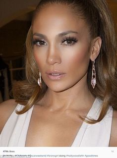 Flawless: Jennifer Lopez oozed old school Hollywood glamour at her agent's pre-Oscars part...