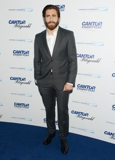 Jake Gyllenhaal Photos - Annual Charity Day Hosted by Cantor Fitzgerald and BGC - Cantor Fitzgerald Office - Arrivals - Zimbio