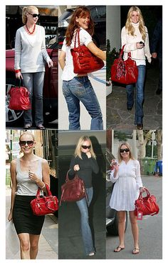 Red purse on Pinterest | Red Purse Outfit Red Purses and Red Bags