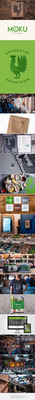 Moku Kitchen Restaurant Branding by Scott Naauao | Fivestar Branding Agency – Design and Branding Agency & Curated Inspiration Gallery #branding #brand #brandidentity #identity #design #designinspiration