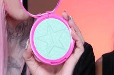 Mint Condition Haut Frost Highlighter Swatch | sehen sie sich die neuesten Produkte in Jeffree Star Line Cosmetics, check it out, unter http: / /makeuptutorials.com/jeffree-star-cosmetics/