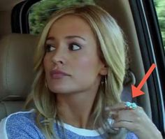 Emily Maynard wearing the Parisa!! #bachelorette #robynrhodes #turquoise #jewelry