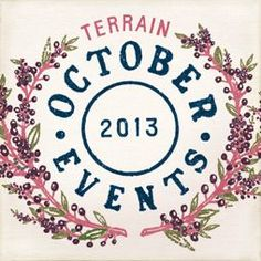 Terrain October Harvest #shopterrain