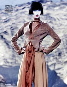 Haute Geisha Doll Editorials - The Elle UK march 2013 Editorial Features Beautiful Pieces (GALLERY)