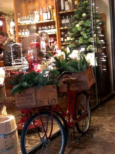 Christmas Storefront in Merano, Italy
