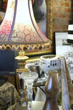 Vintage Chairs and Victorian Settee, Accessories Inspired by European Trends