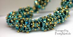 """Beading Pattern for necklace """"Milou""""  - to buy"""