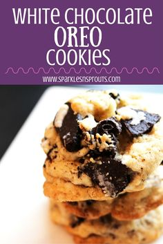 Light & buttery cookies with bits of oreo cookies and chocolate in each bite making them a cookie to remember and that everyone is sure to love.