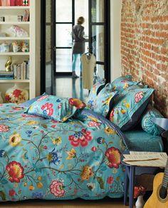 Floral Fantasy Bettwäsche in blau von PiP Studio