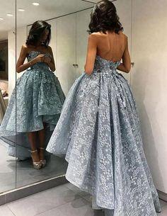caf23fcb15 31 Best Short blue prom dresses images