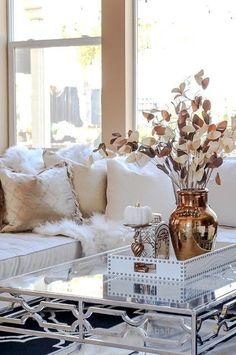 Lovely 8 beautiful homes. 1 amazing tour. Lots of ideas for fall decorating! The post 8 beautiful homes. 1 amazing tour. Lots of ideas for fall decorating!… appeared first on Migno Decor .