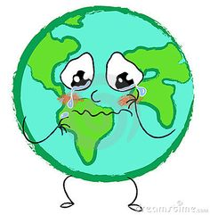 Illustration about A vector illustration of a stylized desperate earth with a crying face. Illustration of desperation, planet, sadness - 6653660 Our Planet, Save The Planet, Planet Earth, Save Our Earth, Love The Earth, Earth Clipart, Public Domain Clip Art, Crying Face, Home