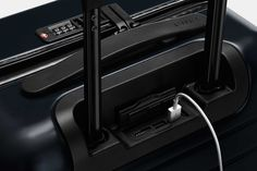Away Carry-On Suitcase Lock and Charger