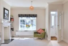 Small vestibule where front door would otherwise open straight into the living room