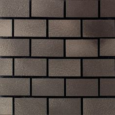 "Shop for Daltile UM12BJMSP Urban Metals - 1-3/4"" x 7/8"" Brick Joint Mosaic Wall Tile - Po. Get free delivery at Overstock.com - Your Online Home Improvement Shop! Get 5% in rewards with Club O! - 24528757"