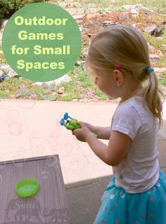 outdoor games for small spaces
