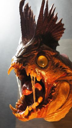 3D printed Thingbeast, Paul Braddock on ArtStation at https://www.artstation.com/artwork/ndwBo