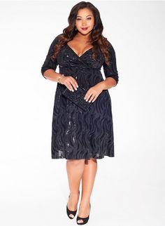1cfb4d4f4e9 Francesca Sequin Plus Size Dress Francescas Dresses