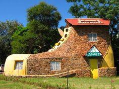 Colección de extrañas e inusuales casas de todo el mundo. ~ LeugimBlog