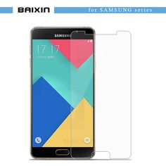 baixin Tempered Glass for Samsung Galaxy A3 A5 A7 2016 High Screen Protector For Samsung J1 J5 J7 S5 S6 S7 Protective film  Price: 1.11 USD