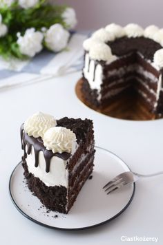 Cake Decorating Designs, Easy Cake Decorating, Cake Designs, Coffee Jelly, Oreo Cake, How Sweet Eats, Cake Recipes, Cheesecake, Food And Drink
