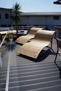 Mehr Ideen zu Rund ums Haus finden Sie auf unserer Homepage. Outdoor Furniture, Outdoor Decor, Sun Lounger, Home Decor, Flood Prevention, Ideas, Chaise Longue, Decoration Home, Room Decor