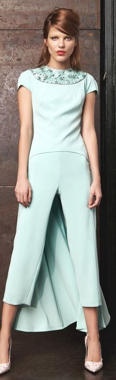 Talbot Runhof S/S 2015 | The House of Beccaria~