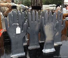 Hi there!! Glove molds found at Randolph Street Market. So fun. Wish I picked up one or two to hold jewelry.