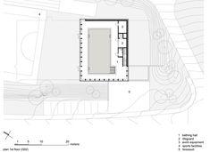 Swimming Pool Allmendli,Plan