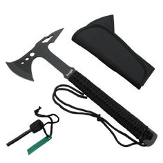 Yes4All Camping Hunting Survival Full Tang Axe w/ Spike H269 with Fire Starter - ²H42IZ Yes4All http://smile.amazon.com/dp/B00GIWT8KW/ref=cm_sw_r_pi_dp_sxWWub1795EGD