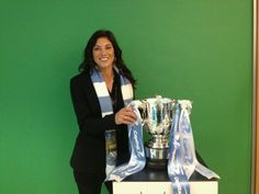 Hope Solo in Manchester City colors. (Twitter)