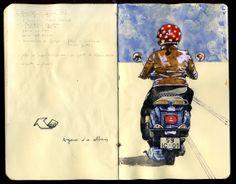 Sketchbook Stories - João Moreno: Like W. F. XI
