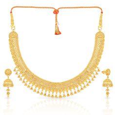 Malabar Gold Necklace Set MHAAAACPLBLJ