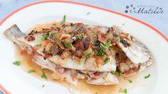 Dorada al horno con almendras | Cocinar en casa es facilisimo.com