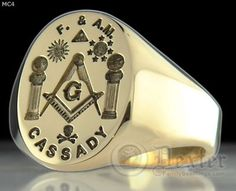 masonic F & AM Ring