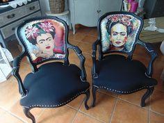 ❤️ Fauteuil relooké Frida Kahlo par Renov Meuble 66  Retrouvez toutes les créations sur Facebook: renov.meuble.66   ou directement sur le site: https://renovmeuble.wordpress.com/  #upcycling #recup #recycler #mobilier #fridakahlo #woodworkidea #woodworking #bricolage #diy #deco #travaildubois #payscatalan #perpignan #recyclezbois