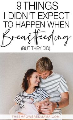 Regardless of how well researched you are, there might be some things you don't expect to happen when breastfeeding, but they do. Most of us know that it helps us connect with our baby, and breastfeeding makes us super hungry, but did any of these other t