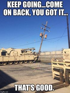 . Military Humor, You Get It, Utility Pole, Racing, Funny, Running, Auto Racing, Funny Parenting, Hilarious