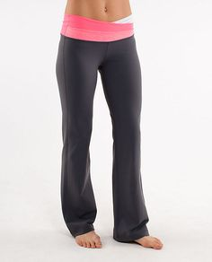 yoga pants (lululemon) way to expensive for Yoga Pants but they're cute!