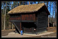 Old/Ancient stabbur in Norway