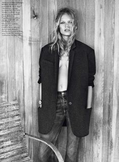 ☆ Anna Ewers   Photography by Josh Olins   For Vogue Magazine France   October 2013 ☆ #Anna_Ewers #Josh_Olins #Vogue #2013