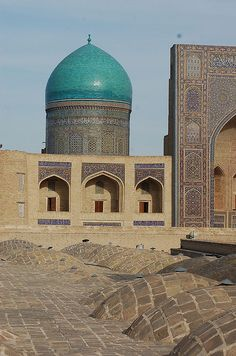 Bukhara, Uzbekistan. Bukhara is the capital of the Bukhara Province of Uzbekistan. Bukhara is a city-museum, with about 140 monuments.