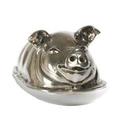 Pig Butter Dish